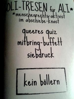 Wagenplatz Silvester Flyer